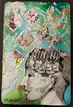 Mixed Media Blog: Cluttered Mind ATC