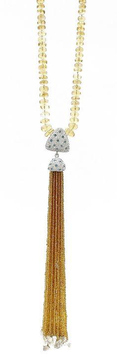 Goddess Tassel necklace
