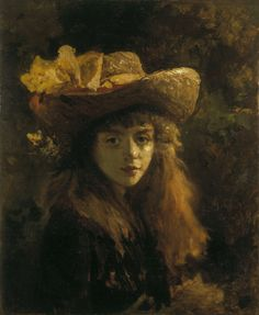 Image: Gustave Courbet - Portrait of a Young Woman