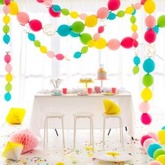New Years Resolution: Throw more parties. (Linking balloons in the @ohhappydaypartyshop )