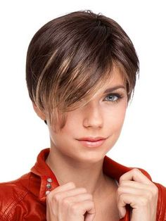 One of beautiful ways to wear short hair is by using long pixie hairstyles. The perfect pixie look can be glamorous, elegant and sophisticated. Wedge Hairstyles, Fringe Hairstyles, Pixie Hairstyles, Hairstyles With Bangs, Bouffant Hairstyles, Beehive Hairstyle, Updos Hairstyle, Brunette Hairstyles, Hairstyles 2018
