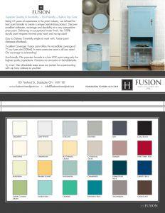 Order a colour card