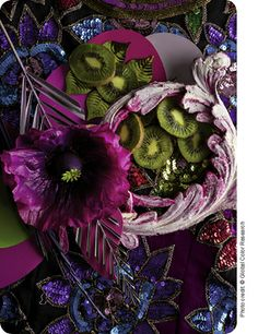 Mix Trends Spring Summer 2015. A very magical combination of colors. #RadiantOrchid
