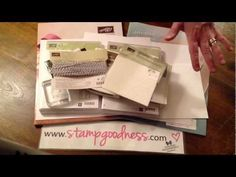 Stampin' Up! Essentials - Getting Started with Stampin' Up! Products