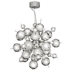 Překrásný kousek z dílny SEARCHLIGHT. Mohli bychom vytyčit - pro nadšence Fyziky a Chemie povinně :) Pravda je - tak či tak - tato lampa okouzlí tak nadšenců extravagance, jak elegance ...