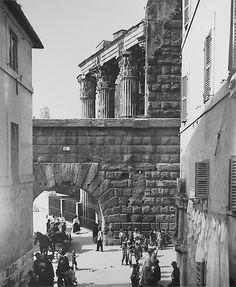 Arco dei Pantani e Tempio di Marte 1910