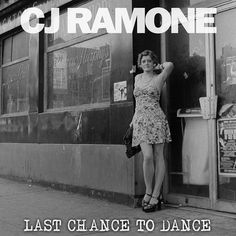 Last Chance to Dance: Taut 2014 solo album from The Ramones' late-period bassist. on Fat Wreck Chords! Cameos by members of Social Distortion and Adolescents. Ramones, Social Distortion, Joey Ramone, Solo Album, Cd Album, One More Chance, Last Chance, 2014 Music, Star Wars