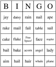First Day Of School Bingo Game We Made A Piece Of Paper That Had