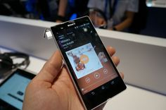 CES: Sony Xperia Z Hands-on - IGN