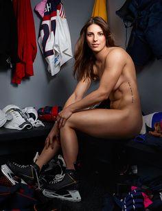 U.S. Women's National Hockey team forward Hilary Knight gets naked- ESPN The Magazine Body Issue
