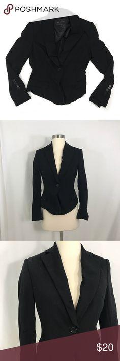 BCBGMAXAZRIA Blazer • Fitted and sophisticated blazer. The inside lining on one arm has torn near the armpit but isn't noticeable from the outside. Otherwise, this is in great condition. BCBGMaxAzria Jackets & Coats Blazers