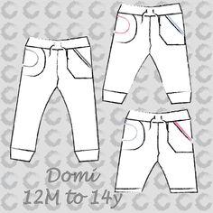 Domi sweat pants (unisex) EN – Sofilantjes Patterns