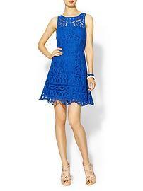 Lilly Pulitzer Foley Dress Blue