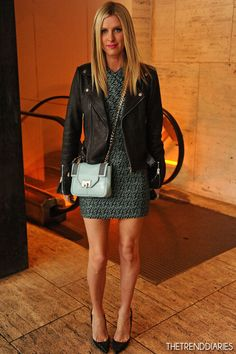 Nicky Hilton at the Rebecca Minkoff Fall 2013 Fashion Show during Mercedes-Benz Fashion Week at The Theatre at Lincoln Center in New York City, New York - February 8, 2013