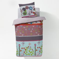 Conjunto capa de edredon poppy le papillon La Redoute Interieurs | La Redoute