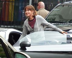 The bank scene - Fifty Shades Freed