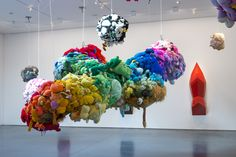 """Mike Kelley ~ """"Eternity is a Long Time""""  """"The Detroit born artist pushed boundaries with his artistic explorations of shame, adolescence, innocence and genius, making great art out of poor taste.""""  Largest exhibition of the artist's work to-date will run in Moma PS1, NY,  October 13, 2013–February 2, 2014."""