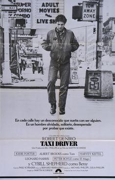 5 Robert De Niro and Martin Scorsese Classic Movies: 'Taxi Driver' – 1976 Driver Film, Taxi Driver 1976, Cybill Shepherd, Jodie Foster, Martin Scorsese, Films Cinema, Cinema Posters, Cinema Cinema, Wassily Kandinsky