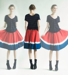 Tee with a skirt..yes !!