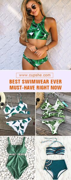 Treat yourself to something special! Before enjoying seaside vacation, better prepare several adorable swimsuits. Now they are easily found in Cupshe.com bikini kindom with better quality. Come and shop now!