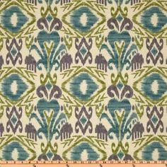 Amazon.com: 54 Wide Richloom Solarium Outdoor Sumter Ikat Opal Fabric By The Yard: Arts, Crafts & Sewing
