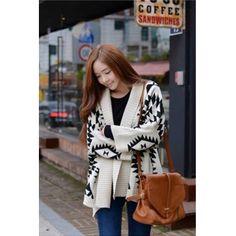 USD8.99Woman Fashion Long Sleeve Short Apricot Wool Sweater