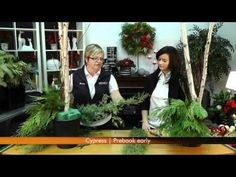 Creating a Beautiful Christmas Urn - YouTube