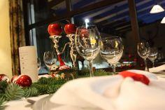 Weihnachtsabend, Festtafel im Seehaus, Riessersee Hotel Resort Garmisch-Partenkirchen, Bayern - Christmas Eve table