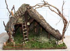 Startseite - Nativity Diy How to Make Christmas Crib Ideas, Christmas Crafts, Christmas Decorations, Diy Nativity, Christmas Nativity Scene, Art Deco Bedroom, Diy Crafts To Do, Free To Use Images, Farm Toys
