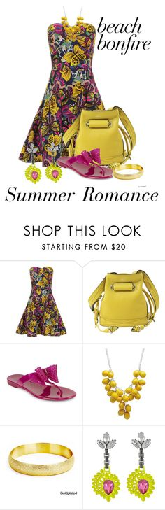 """""""Bonfires & Romance"""" by shamrockclover on Polyvore featuring Lancel, Salvatore Ferragamo, West Coast Jewelry and Mawi"""