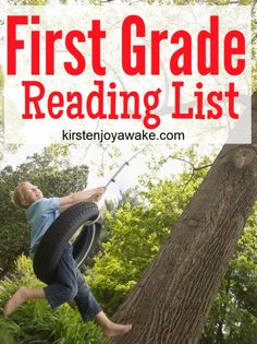 Mom-Approved First Grade Reading List