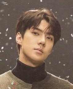 """[SCAN] #EXO Postcard - """" Universe"""" Album #SEHUN"""