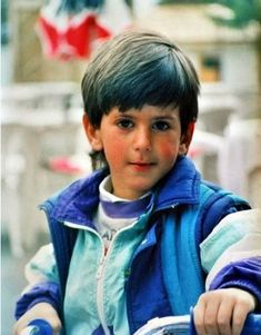 Soooo cute!!!! @djokernole have you seen this one yet? --- A young Novak Djokovic #tennis #ausopen  www.australianopen.com