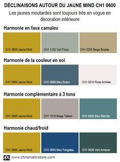 Les jaunes moutarde sont toujours très en vogue en décoration intérieure. www.chromaticstore.com #jaunemoutarde #déco