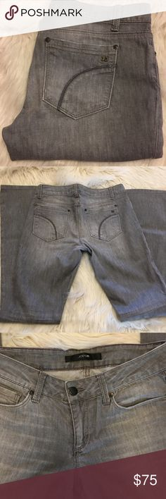 "Joe's Jeans ""Honey""  Curvy Fit Size 28 length 32"", Good condition, The Honey; booty fit in gray Joe's Jeans Jeans"