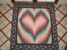 Free Bargello Heart Quilt Pattern | Bargello Heart !!! | Projects ... : bargello heart quilt pattern - Adamdwight.com