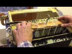 how to make hand dipped beeswax candles with Sharon Jones at Beedazzled in Benzonia, Michigan