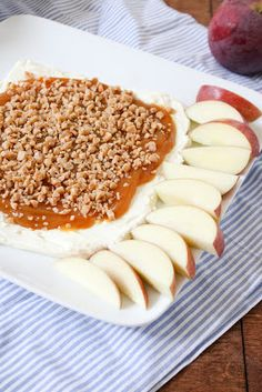 Caramel Apple Dip | Dainty Chef Oh, my goodness- SO GOOD!!!  Use the Sweetened condensed Milk Caramel recipe!