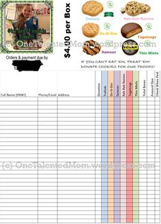 cookie order form edited to include gluten free toffee-tastic. You on