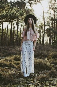 Printed Pants Outfit Ideas (5)