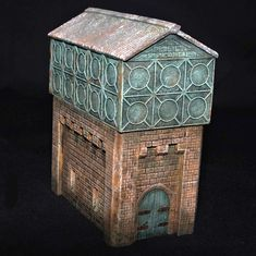 Ian Costello - ScaleCast Amazing Buildings, Scale Models, Galleries, Decorative Boxes, It Cast, Scale Model, Decorative Storage Boxes