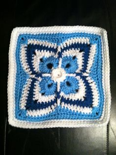 Ravelry: Project Gallery for Firenze Afghan Block pattern by Julie Yeager