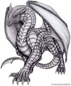 dragon art | dragon drawing by arkaedri traditional art drawings fantasy 2011 2015 ...