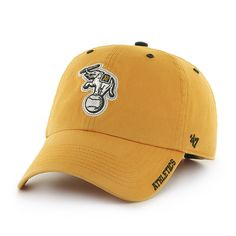 Oakland Athletics Ice Gold 47 Brand Adjustable Hat