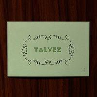 serrote | 12 cartões | tipografia