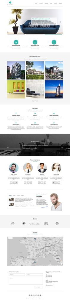 427 best One Page Website Templates images on Pinterest in 2018 ...