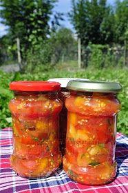 Kalandok a konyhában : Házi paradicsomkonzerv Salsa, Spices, Jar, Food, Spice, Essen, Salsa Music, Meals, Yemek