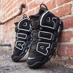 Nike Men's Air More Uptempo in black and white will arrive at BAIT Diamond Bar soon. #nike #nikeairmoreuptempo #baitme #bait