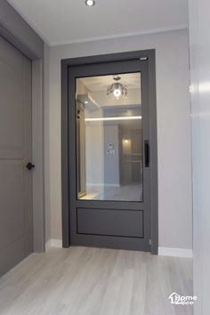 대전 인테리어/36py 그레이 컬러의 세련된 대전 월평동 누리 30평대 아파트 인테리어 리모델링안녕하세요 ... Natural Interior, Door Gate, Kitchen Doors, House Rooms, Entrance, Exterior, Windows, Furniture, Design