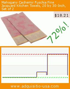 Mahogany Cachemir Fuschia Fine Jacquard Kitchen Towels, 20 by 30-Inch, Set of 2 (Misc.). Drop 72%! Current price $18.21, the previous price was $65.00. http://www.adquisitio-usa.com/mahogany/cachemir-fuschia-fine